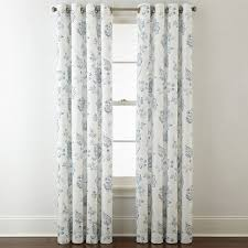 Jcpenney Living Room Curtains Jcpenney Home Quinn Jacobean Grommet Top Curtain Panel Jcpenney