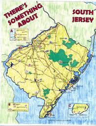 Map Of New Jersey Cities Sprawl And Smart Growth In Southern New Jersey