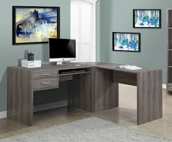 monarch specialties inc corner desk dark taupe best home