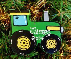 tractor ornaments 3 it runs like a deere deere