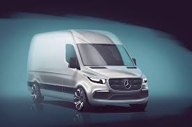 mercedes ads here u0027s your first look at the next mercedes sprinter motor trend