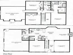 craftsman home floor plans 2 story house floor plans 6 bedroom craftsman home design with