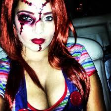 Professional Theatrical Makeup Female Chucky Costume Makeup Mugeek Vidalondon