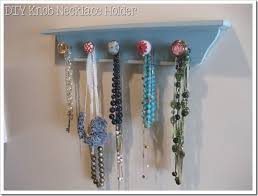 necklace holder diy images Life love larson diy knob necklace holder jpg