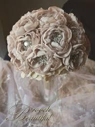 Bouquet Diy Best 25 Fabric Flower Bouquets Ideas On Pinterest Bouquet Toss