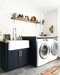 Laundry Room With Sink Interior Design Laundry Room Sink Cast Iron Inside Cabinets 16