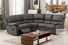 Rounded Corner Sofas Recliner Corner Sofa Ebay