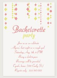 9 free printable bachelorette invitations
