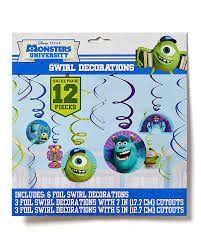amazon com american greetings monsters university hanging party
