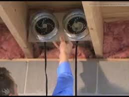 crawl space exhaust fan tjernlund xchanger reversible ventilation fan for basements crawl
