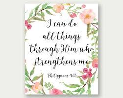 philippians 4 13 i can do all things bible verse art bible