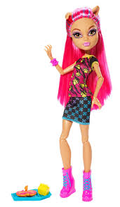 amazon com monster high creepateria howleen wolf doll toys u0026 games