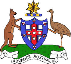 the state symbolics of the commonwealth of australia flags emblems