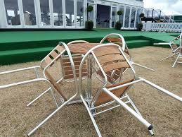Bistro Chairs Uk Aluminium Hardwood Furniture Hire Event Hire Uk