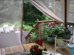 screen in your deck easily u0026 inexpensively