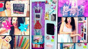 Ideas For Decorating Lockers Diy Back To Locker Makeover Cheap Ways To Decorate