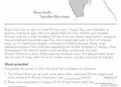 4th grade black history month worksheets u0026 free printables