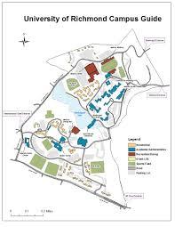 Map Of Richmond Va University Of Richmond Campus Map Ken U0027s Geovismaps Blog