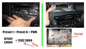 04 honda pilot radio code honda radio code honda crv radio code