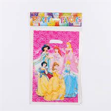 princess candy bags 10pcs lot pink 6 design princess gift party supplies kids