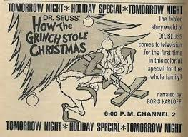 dr seuss how the grinch stole tv special