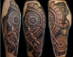 mechanic tattoos 35 bio mechanical tattoo designs biomechanical tattoo design