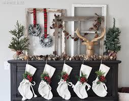christmas mantel cozy christmas mantel cherished bliss