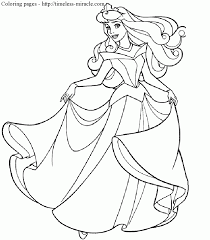 disney princess coloring pages free print