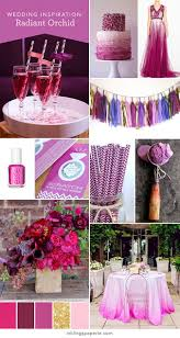 Orchid Decorations For Weddings Inklings Paperie Wedding Inspiration 10 Radiant Orchid Ideas