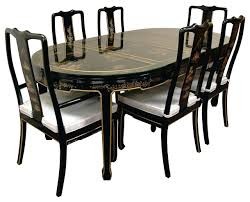 Asian Dining Room Furniture Dining Room Table Dining Room Table Popular Black Oval
