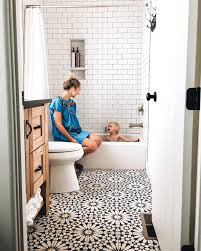 Bathroom Flooring Ideas Moroccan Tiles Very Low Bath And Shower Over Small Bathroom