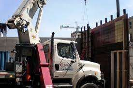 crane hoisting grove roofing commercial roof repair