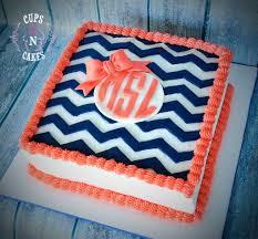 cake monograms chevron monogram cake cups n cakes monogram cake