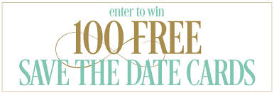 save the date cards free win 100 free save the date cards