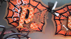 Halloween Banner by Cricut