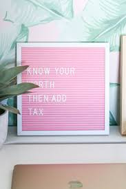 Home Decor Blogger by Blogger Office Tour Gold Desk Pink Office And Letter Board