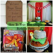 how to train your dragon birthday party suburban wife city life