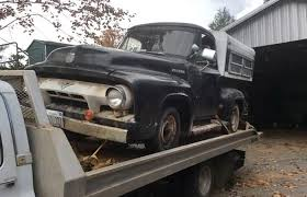 ford 1954 truck barn find ford 1954 ford f series