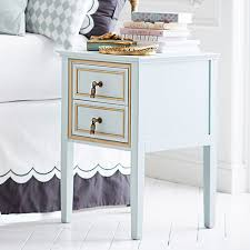 how high should a bedside table be the emily meritt royal bedside table pbteen