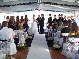 wedding on a boat admiral yacht charters newport ca boat rentals