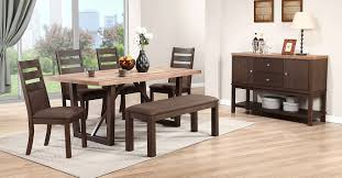 dining room set with bench furniture stores modern 7 dining set distressed dining room