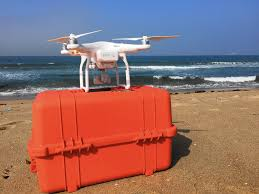 seal beach uses drone to track young great white sharks la times