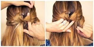 tutorial rambut rambut gaya ikat pita unik dan modern
