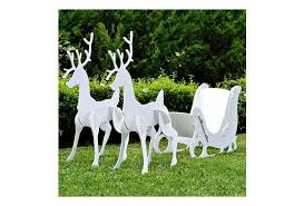 Electric Reindeer Christmas Decorations by Top 10 Best Outdoor Reindeer Decorations Compare U0026 Save