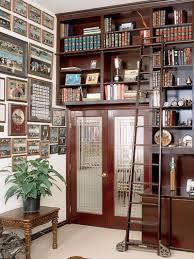 Sliding Bookshelf Ladder Library Ladders Alaco Ladder