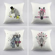 Buy Cheap Cushion Covers Online Online Get Cheap Zebra Cushion Covers Aliexpress Com Alibaba Group