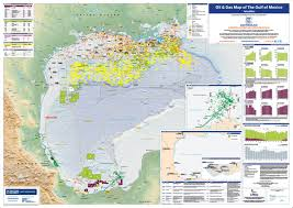 map of the gulf of mexico gas map of the gulf of mexico petroleum economist store