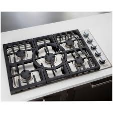 Capital Cooktops Dcs 36 Inch 5 Burner Natural Gas Drop In Cooktop By Fisher Paykel