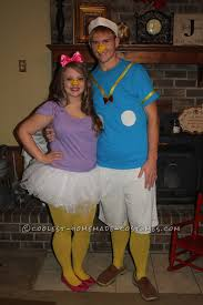 Halloween Makeup Contest by Easy Donald And Daisy Duck Couples Costume Daisy Duck Halloween