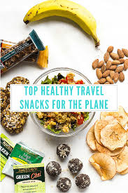Top healthy travel snacks for the plane jessica in the kitchen